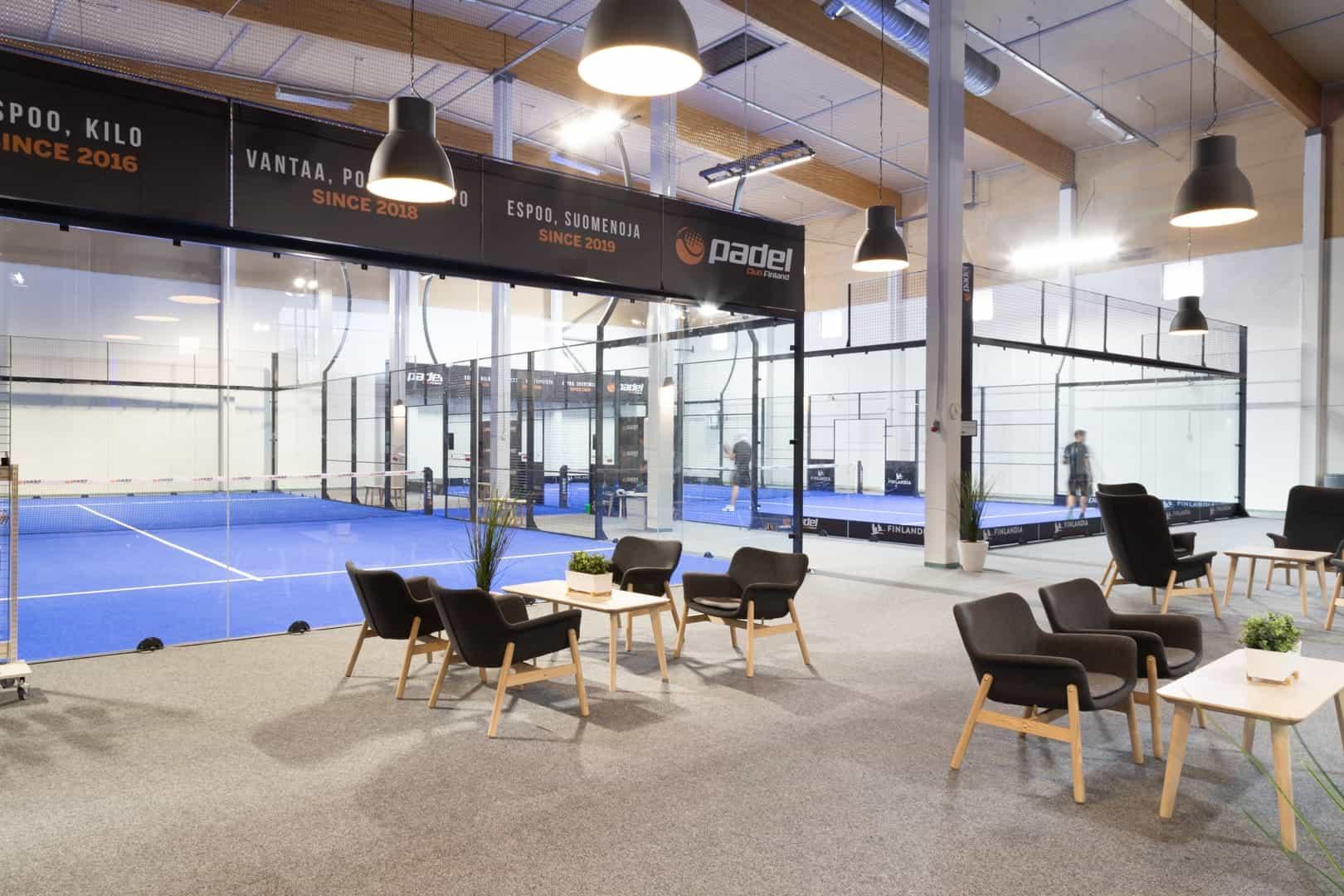 Padel Club Finland Porttipuisto